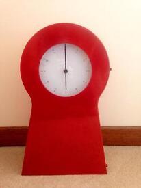 Red Display Clock