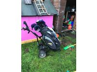 Powercaddy trolley and bag, (free clubs inc) £80 Ono power caddy golf swap why