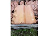 Reclaimed Russell Double roman roof tiles