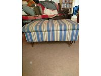 Laura Ashley pouffe/foot stool