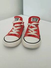 Red converse size 10