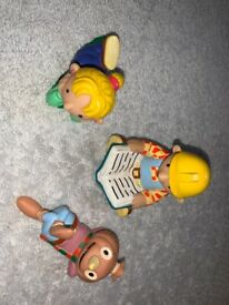Bob the Builder, Wendy & Spud Toy Play Figures IP1