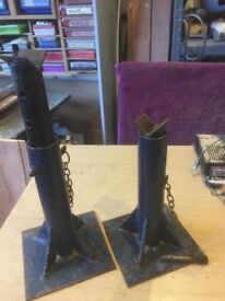 Pair of Heavy Duty Car Axel Stands