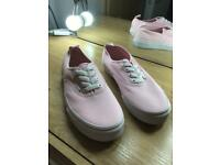 Ladies size 5 slip on VANS - new unworn