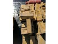 Reclaimed yellow stock bricks 1200