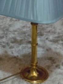 Reading lamps with shades