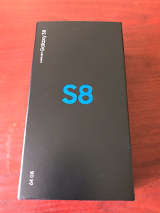 SAMSUNG GALAXY S8 MIDNIGHT BLACK - NEW AND UNOPENED Collingwood Yarra Area Preview