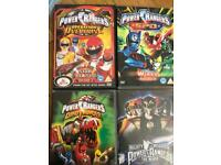 Power Rangers DVD's