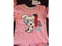 Girls t-shirt from age 1 to 8 £1 each