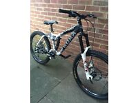Kona stinky downhill bike + extras