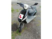 125 Piaggio zip moped 125cc maxi scooter not 50cc