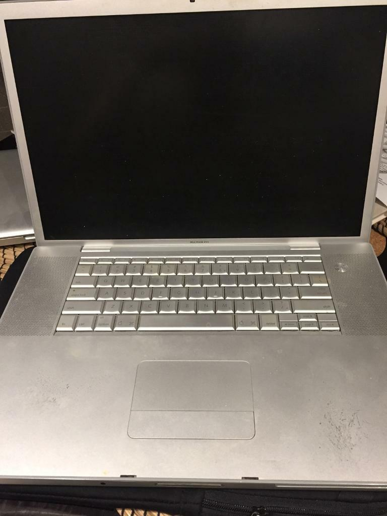 Rare 17 inch screen mac book pro - for parts