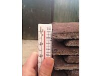 Redland plain brown roof tiles pallet of 756