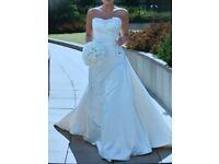 Maggie Sottero Wedding Dress (size 10)