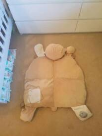 Large teddy pillow