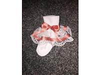 Girls Frilly Socks