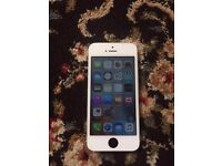 Iphone 5 unlocked white - Unlocked iphone 5 good clean condition for sale