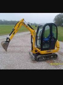 Self Drive & Operated Mini Digger Hire Kent London