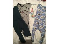 Baby Boy outfits 0-3 perfect condition