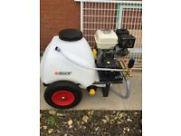 Wheelbarrow Pressure Washer