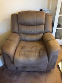 High riser, recline, heated, massage Chair