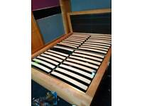 King size bed 4 large drawers
