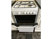 INDESIT 15GGW Free Standing Gas Cooker,
