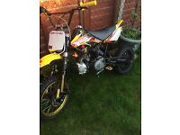 110cc pit bike no back brake bore exaust runs mint new condition cr70frame best suspension ever