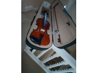 Violin with case. Nearly new.