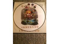 QUEEN INUENDO LP VINYL RECORD PICTURE DISC RARE CAN POST UK