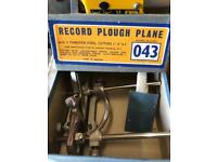 Record plough plane no 043