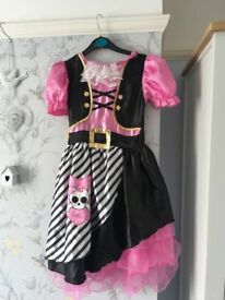 Girls pirate fancy dress