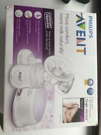 Avent electric pump + tommee tippee