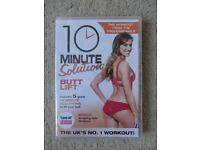 BRAND NEW STILL SEALED - 10 Minute Solution: Butt Lift DVD