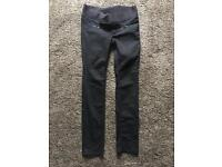 Size 10 under bump H&M maternity straight leg jeans