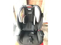 Graco Milestone all in 1 car seat, excellent condition, suitable from infant to 12 years