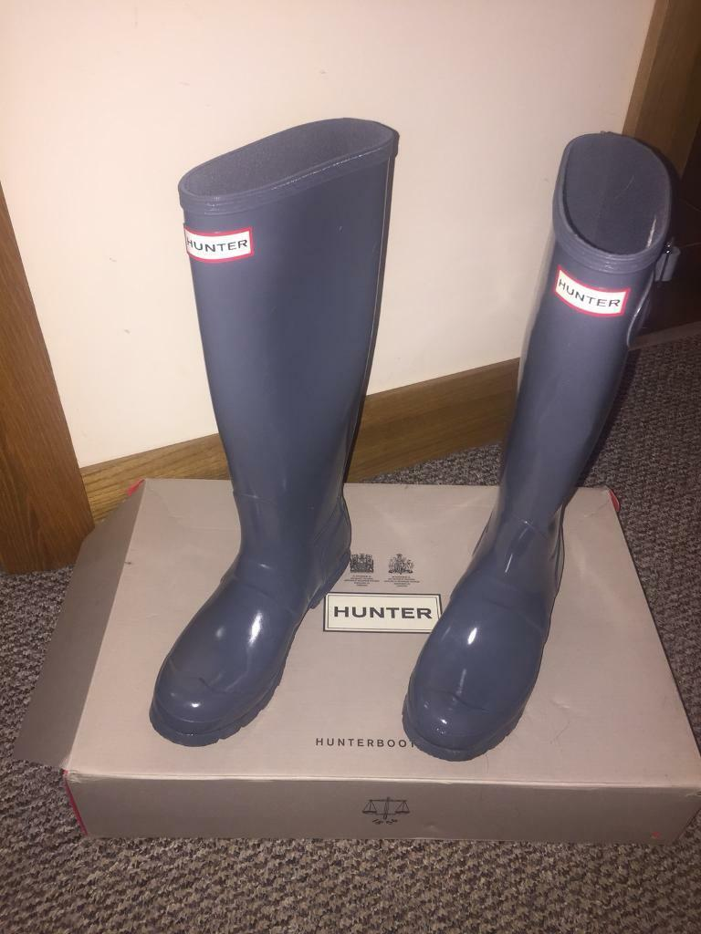 e35511d951a Hunter Wellington boots size 4. Crumlin ...