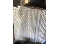 Gravel stabilisation mats