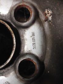 Vw t5 steel wheels 16 inch