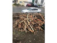 Fire wood batten