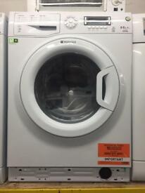 Hotpoint white good looking 8+6kg wash & dry 1400spin washing machine cheap