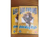 Lee Evans 'Monsters'DVD - BRAND NEW IN WRAPPER