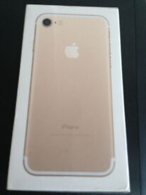 Apple Iphone 7 256gb Gold BRAND NEW BOXED 12 Month Warranty