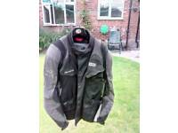 Ixs motorcycle textile jacket.