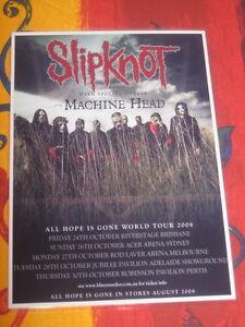SLIPKNOT-MACHINE-HEAD-2008-AUSTRALIAN-TOUR-PROMO-TOUR-POSTER