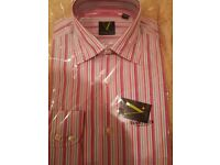 VANHEUSEN Striped shirt, brand new, Size 15