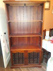 Bookcase cupboard book case shelf.