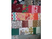 Fabric for quilting mixed colours small rectangles