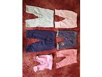 Girls Clothes Bundle Newborn-6 Months