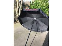 Brand new Mahou Garden Parasol Umbrella beer garden, quality item. 1.8m
